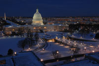 US Capitol-Winter